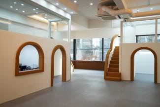 복층으로 공간활용도를 높인 임대형 키즈카페