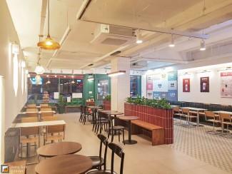 홍콩으로의 초대, 카페 인테리어