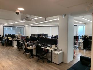 깔끔하고 쾌적한 공간,100평사무실 인테리어