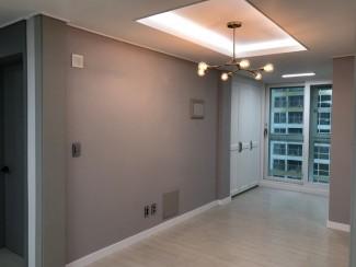 그레이&화이트 컨셉의 아파트인테리어