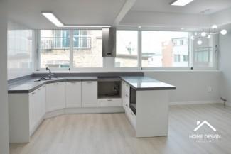 주상복합  주택 4-5층 옥탑 리모델링