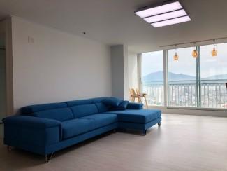 블루&화이트, 패턴타일의 매력 아파트인테리어