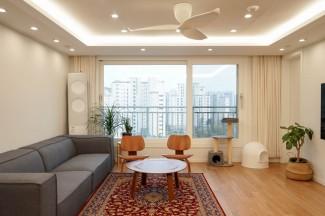 은은하고 편안한 아파트 인테리어