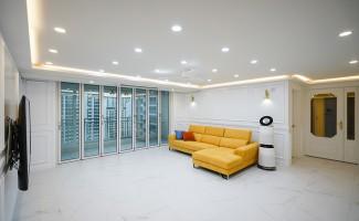햇살을 닮은 옐로우 포인트 아파트인테리어!