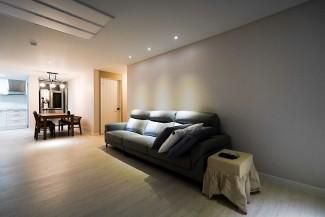 [3D]은은한 조명이 멋진 아파트 인테리어