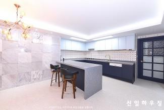 천연대리석으로 꾸민 럭셔리한 아파트리모델링