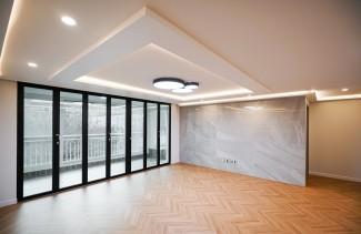 현대적인 세련미를 돋보이게한 아파트인테리어