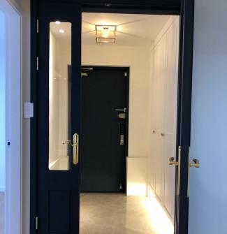 네이비&골드 컬러의 고급스러운 아파트인테리어